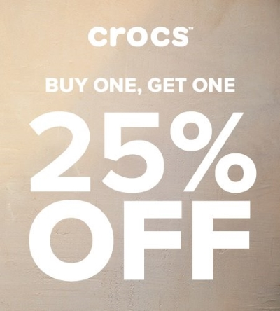 Buy One, Get One 25% Off!