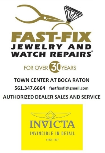 NOW AUTHORIZED DEALER OF INVICTA SALES AND SERVICE