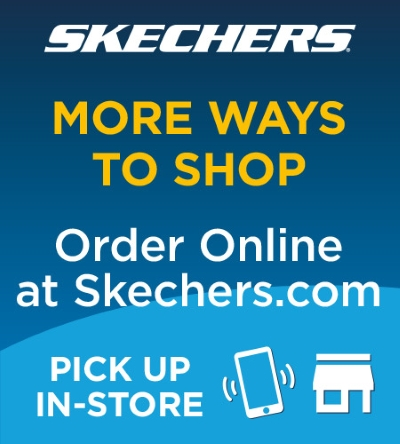 SKECHERS NOW HAS MORE WAYS TO SHOP!