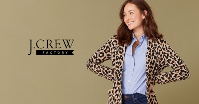 EXTRA 20% OFF WITH A J.CREW FACTORY CREDIT CARD!