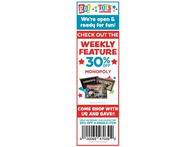 Monopoly 30% OFF