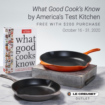 What Good Cooks Know Free with $200 purchase