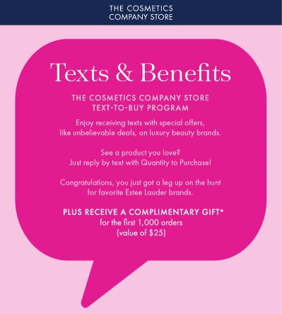 Texts & Benefits