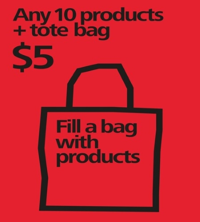 Fill A Bag for $5