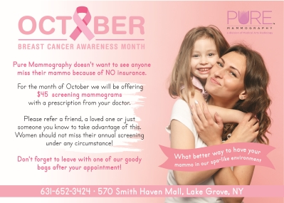 Let's Embrace's Breast Cancer Awareness Month