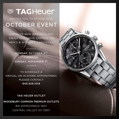 TAG Heuer October Event