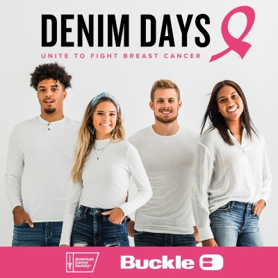 Unite with Buckle and the American Cancer Society