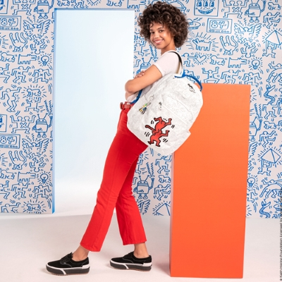 Introducing our Keith Haring x Kipling Collection!