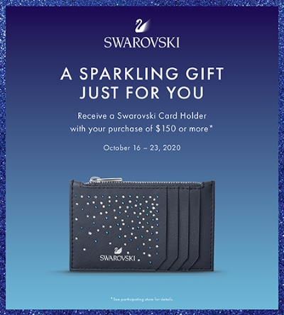 Swarovski's Sparkling Gift Just For You!
