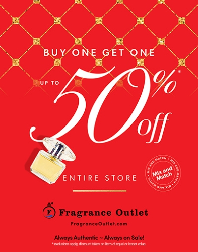 Fragrance Outlet - Shop Early this Season!