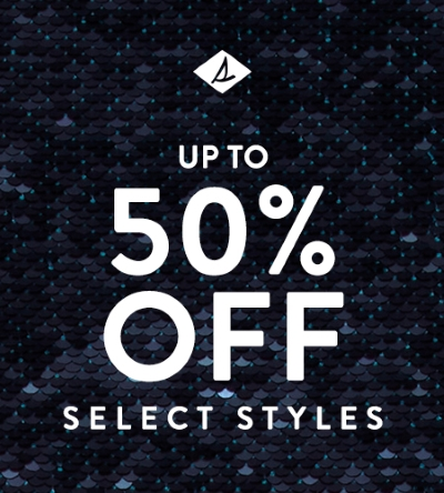 SPERRY BLACK FRIDAY: 50% OFF SELECT STYLES!