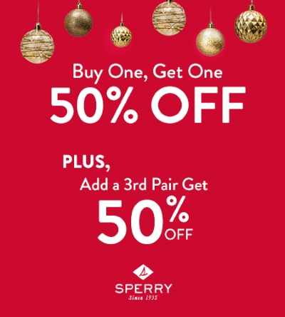 BOGO Savings at Sperry | Get Gifting Now!