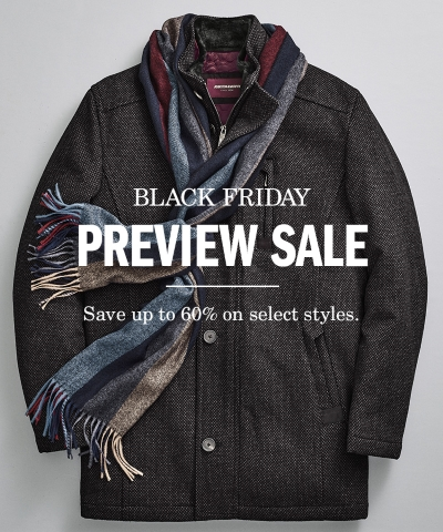 Johnston & Murphy Black Friday Preview Sale