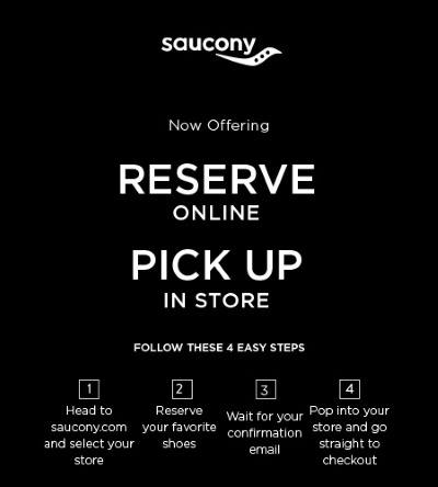 Reserve Online Pick Up In Store is Now Available