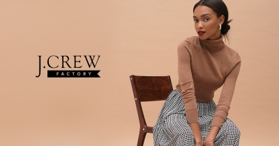 50% - 70% OFF STOREWIDE AT J.CREW FACTORY!