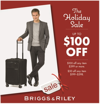 BRIGGS & RILEY LUGGAGE SALE GOING ON NOW!