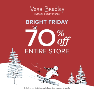 Bright Friday at Vera Bradley