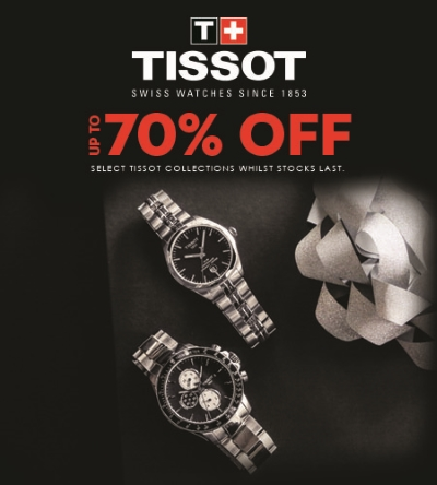 Celebrate the Holidays with Tissot!