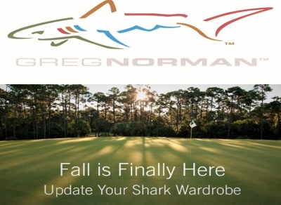 FALL IS IN THE AIR!!! - GREG NORMAN COLLECTION