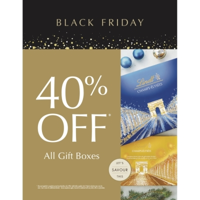 BLACK FRIDAY: 40% OFF ALL GIFT BOXES!