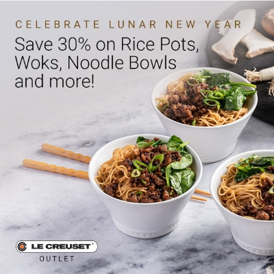 Save 30% on Rice Pots, Woks, Noodle Bowls & more!