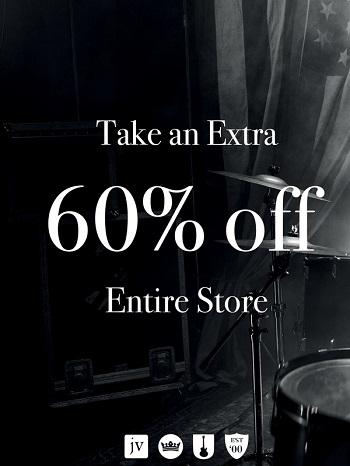John Varvatos:  Take an Extra 60% off Entire Store