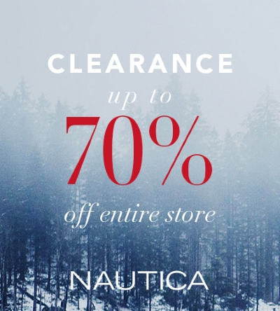 NAUTICA END OF SEASON CLEARANCE