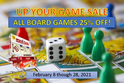 Up Your Game Board Games Sale
