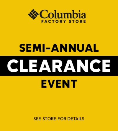 Semi Annual Clearance Event