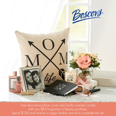 Boscov's Mother's Day Fragrance Gift with Purchase