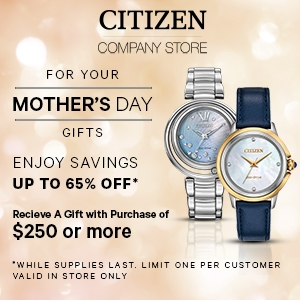 MOTHER'S DAY GIFTS: CITIZEN COMPANY STORE