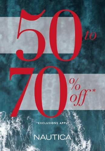 50-70% OFF ENTIRE STORE