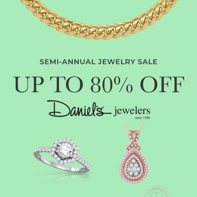 Daniel's Jewelers SEMI-ANNUAL JEWELRY SALE