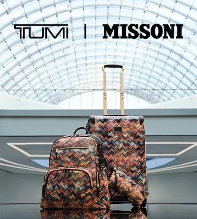 Introducing TUMI I Missoni