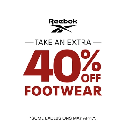 40% off ALL Footwear