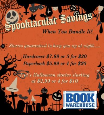 Sppoktacular Savings!