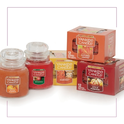 Current offers at Yankee Candle Outlet