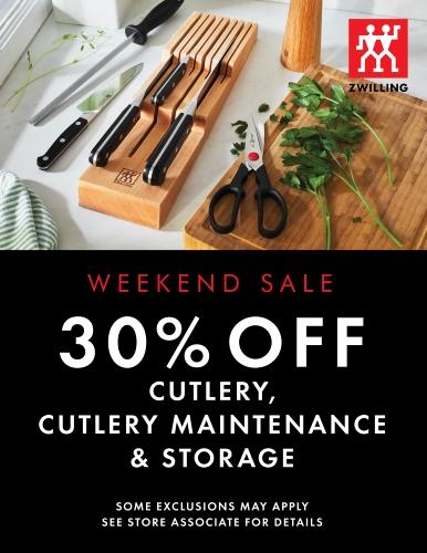 Weekend Cutlery Sale